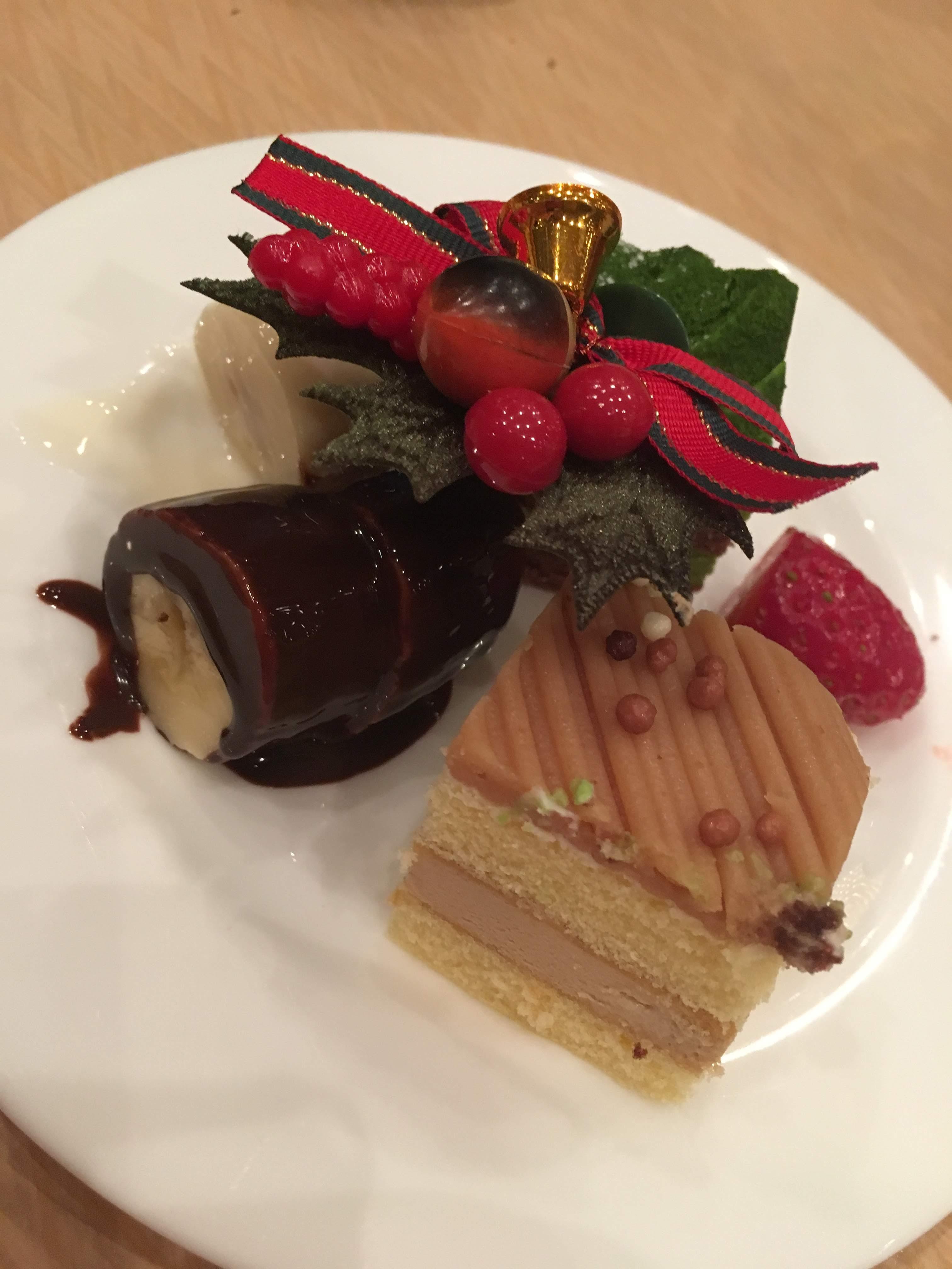 ANAクラウンプラザホテル富山のクリスマスブッフェへ行ってきました