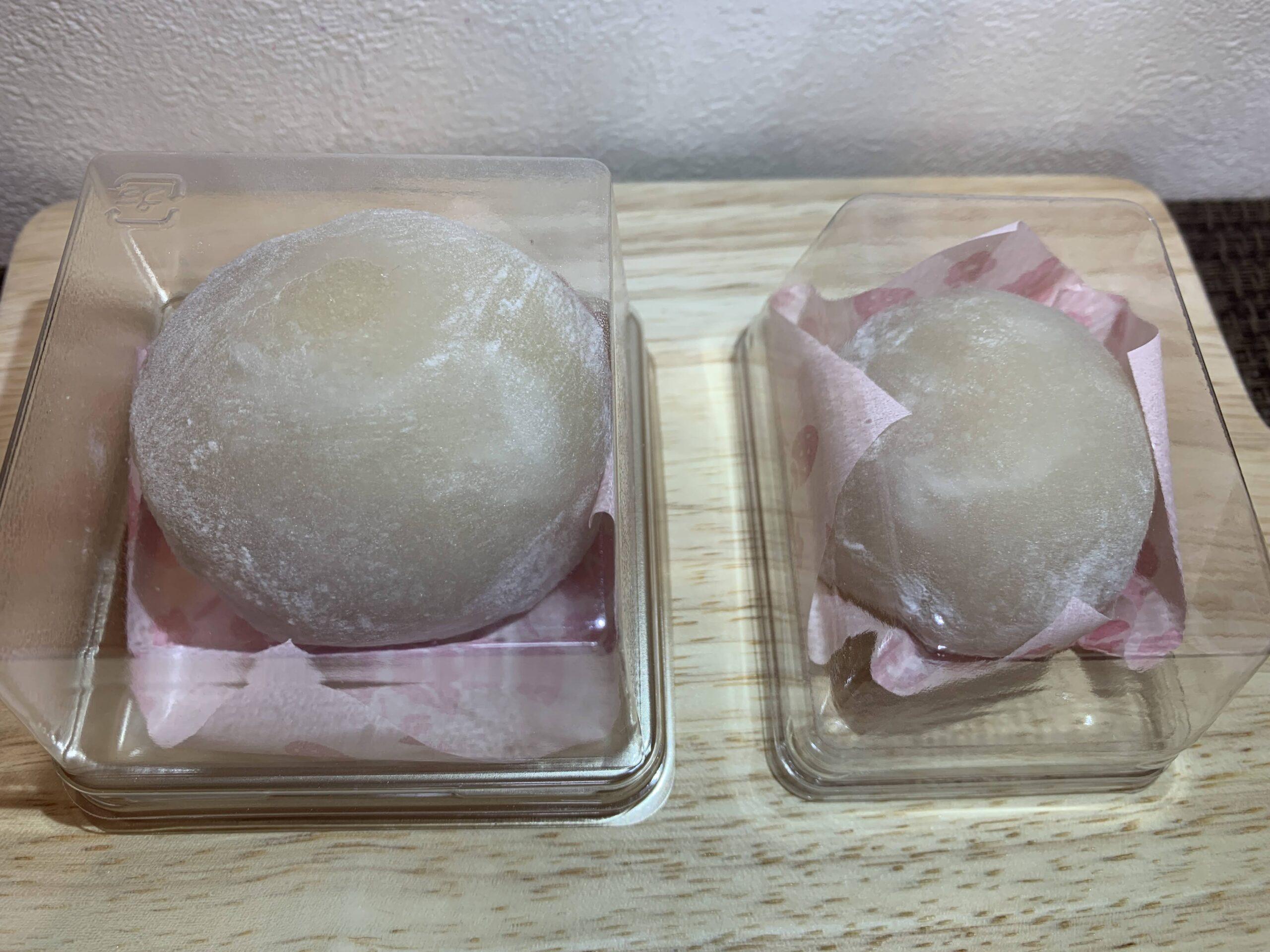 引網香月堂のいちご餅(苺大福)プレミアム食べ比べ