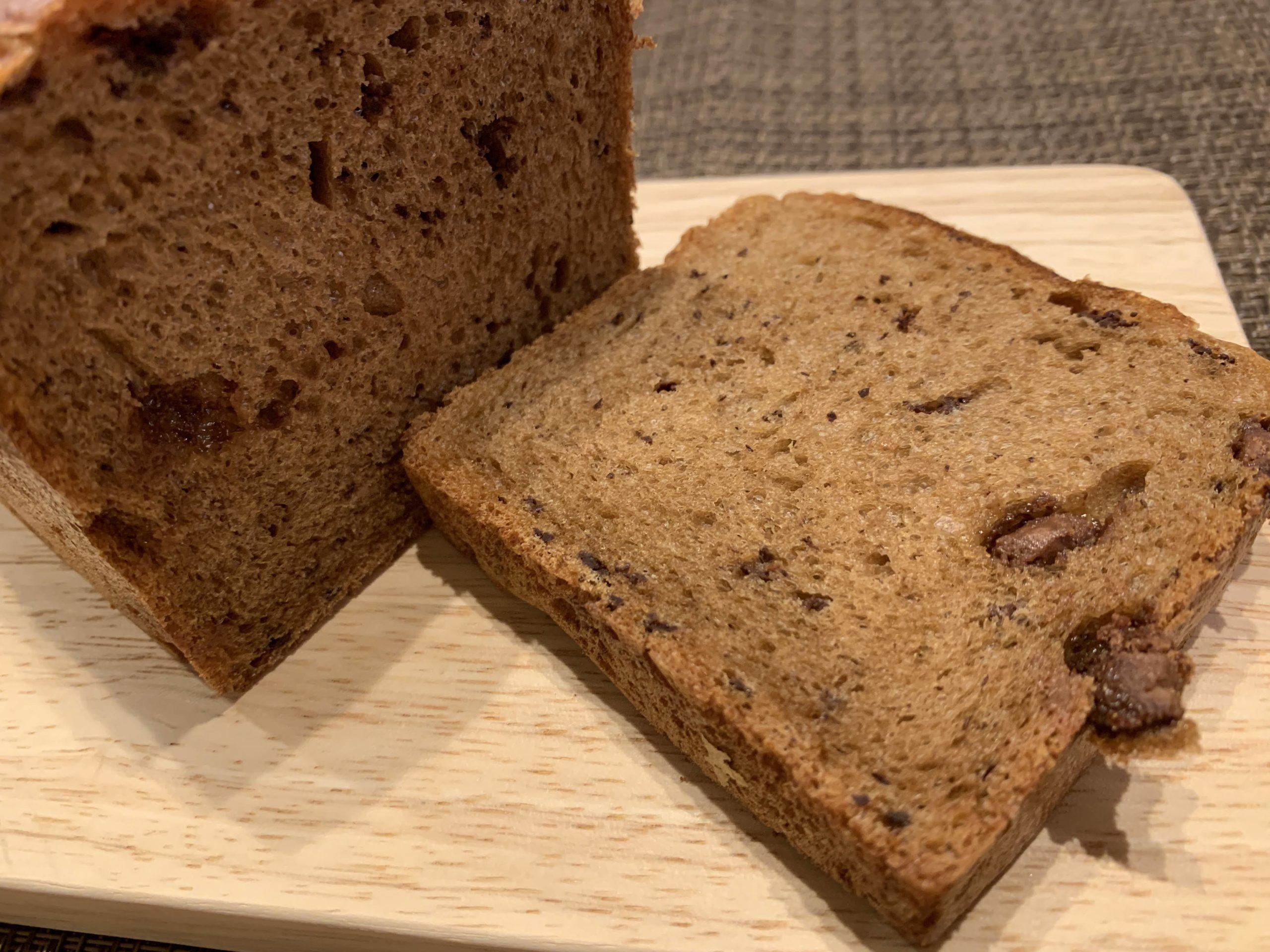 食パン専門店5+(ファイブプラス)コーヒーチョコ食パンを食べてみた