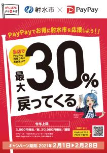【終了】射水市×PayPay(ペイペイ)が僅か10日で還元終了