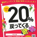 砺波市PayPay20%還元4月からスタート・初日の様子は?